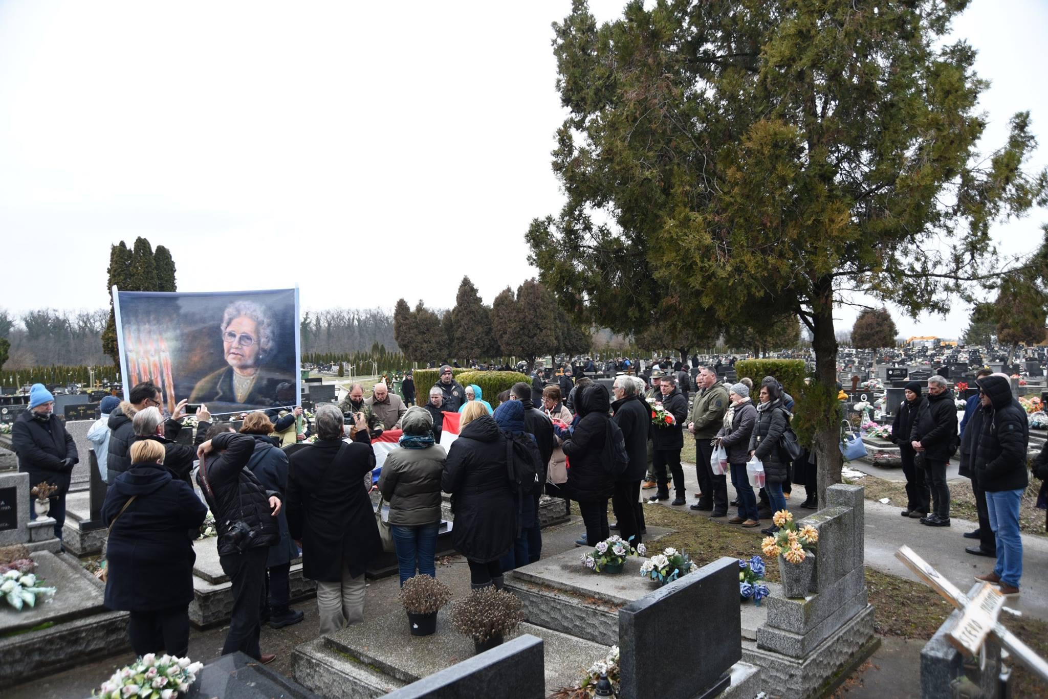 Da se ne zaboravi majka Kata Šoljić 15 Vukovar 2018